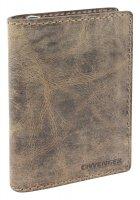 Портмоне wenger arizona, коричневый, воловья кожа, 11×3×16 см