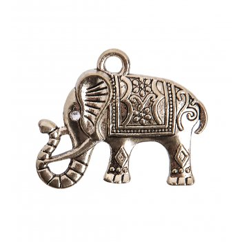 Am-2296 фигурка кошельковая счастливый слон (латунь)