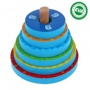 Игрушка - пирамидка для купания «цифры»