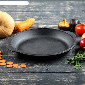 Крышка-сковорода чугунная 300 мм