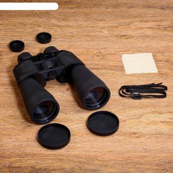 Бинокль 10-30х60, черный. с регулируемым зумом 10-30, линзы рубин