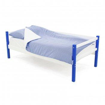 Детская кровать-тахта svogen сине-белый