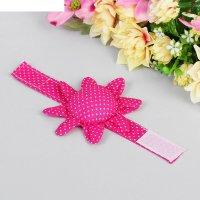 Игольница на руку «цветочек», с ремешком на липучке, ndr-01