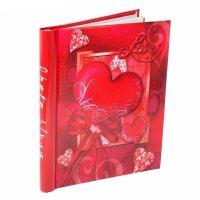 Фотоальбом магнитный 20 листов сердца, микс