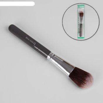 Кисть для макияжа, цвет серый