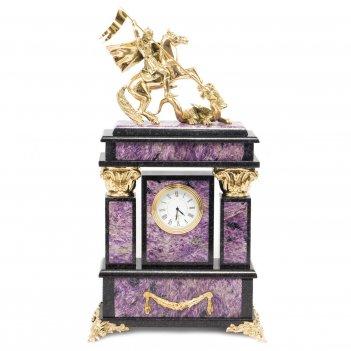 Часы георгий победоносец чароит