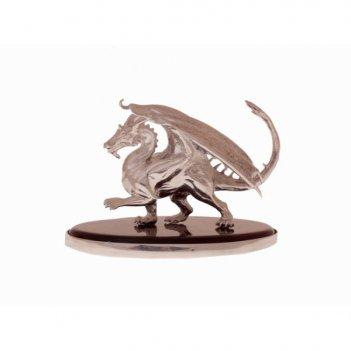 Сувенир дракон из янтаря