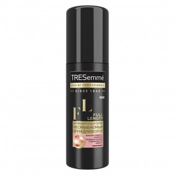 Крем-праймер для волос tresemme full length, несмываемый, 125 мл
