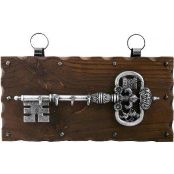 kl-840 ключница настенная, хром.