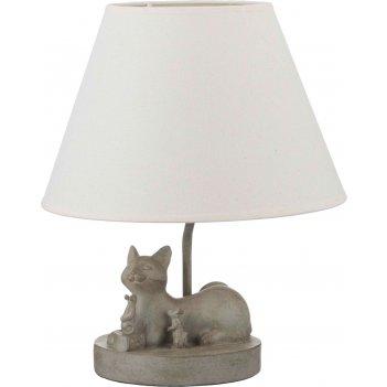 Светильник с абажуром кошка с мышами e27 40w 30*...