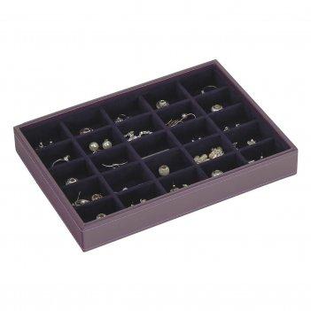 Lc designs 73158 шкатулка открытая stackers размера стандарт с 25 ячейками