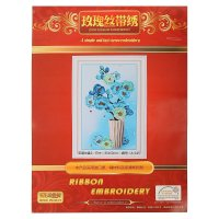 Набор для вышивания лентами чудо цветы размер основы 50*35 см