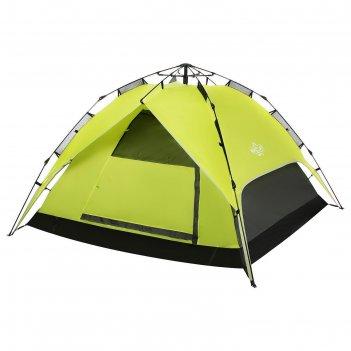 Палатка-автомат туристическая swift 3, размер 200 х 200 х 126 см, 3 х мест