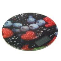 Весы кухонные электронные energy en-403, до 5 кг, автоотключение, ягоды