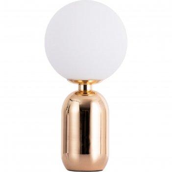 Настольная лампа bolla-sola, 25вт e27, цвет золото
