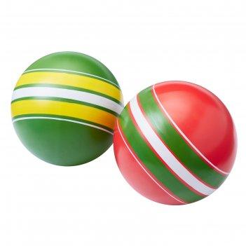 Мяч, диаметр 15 см, цвета микс