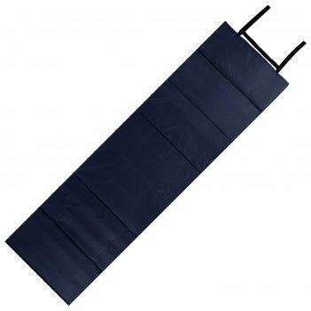 Коврик складной 145*51 см, темно - синий/голубой