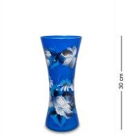 Vz-554 ваза стеклянная жостово h-300 (конус)