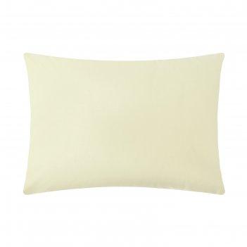 Наволочка «этель», размер 70х70 см, цвет жёлтый, 100% хлопок, перкаль