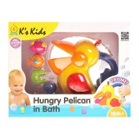 Голодный пеликан для ванной ka10422gb