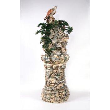 Напольный фонтан «гнездо на скале»