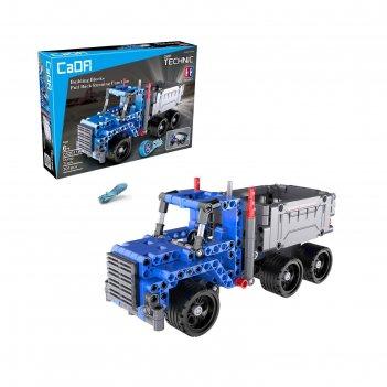 Конструктор инерционный грузовик, 301 деталь
