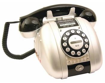 Телефон syracuse black 541383