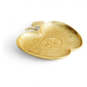 Блюдо michael aram яблоко 25,5х24см, латунь