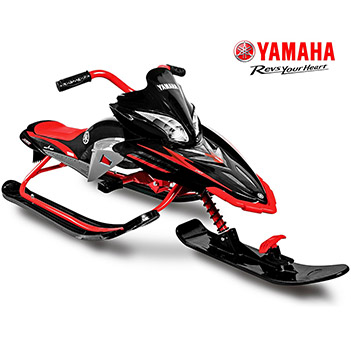 Ym13001 снегокат yamaha apex snow bike titanium black/red