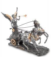 Ws- 84 статуэтка богиня ника на колеснице