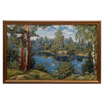 Гобеленовая картина 50х79см утки №1 (79х50 см)