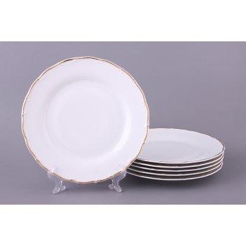 Набор тарелок из 6 шт. офелия 662 диаметр=25 см