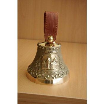 Колокольчик с иосафом белгородским из бронзы