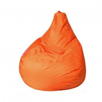 Кресло-мешок капля, м, d100/h140, цвет 04 оранжевый
