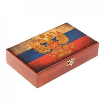 Домино в деревянной шкатулке россия