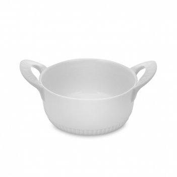 Кокот индивидуальный, диаметр: 11 см, материал: жаропрочный фарфор, цвет: