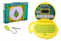 Компьютер детский, 60 функций, русский, английский язык, с мышкой, работае