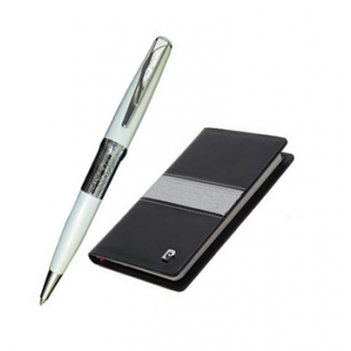 Набор: записная книжка + шариковая ручка.ручка шариковая, ла
