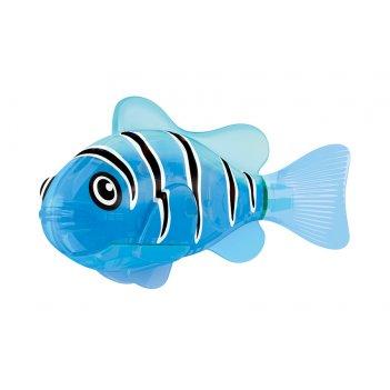 Светодиодная роборыбка синий маяк лицензия от robofish zuru