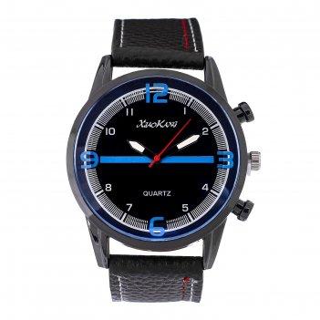Часы наручные мужские бастленд, ремешок из экокожи, d=5 см , микс
