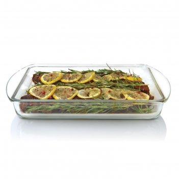 Блюдо для запекания стеклянное studio, 21 х 34,5 х 5 см, 2,2 л