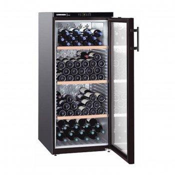 Винный шкаф liebherr wkb 3212 vinothek, класс а, объем 314 л, однокамерный