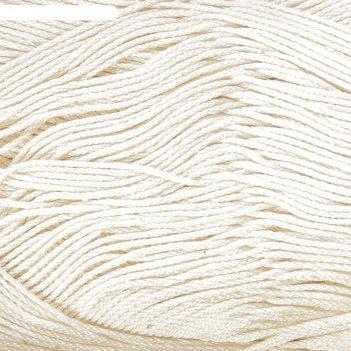 Нитки вязальные ромашка 320м/75гр  100% мерсеризованный хлопок цвет 0103