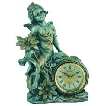 Скульптурные часы из полимерных смол восток к4521-3