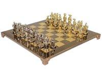 Эксклюзивные шахматы 44х44 рыцари средневековья от manopoulos