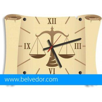 Часы настенные весы 39х28 см