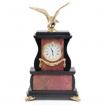 Часы орел родонит