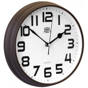 Настенные черные часы mrn 2981a chb