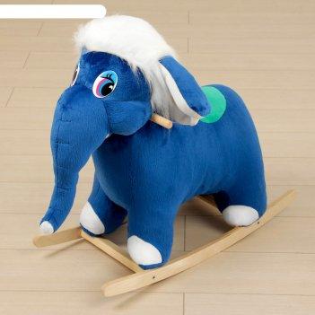 Мягкая качалка слон микс