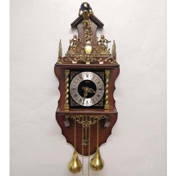 Настенные механические часы sars 5602-261 italian walnut